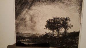 Les Trois Arbres - Rembrandt (1643)