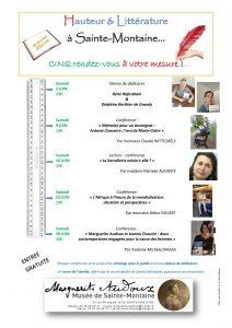 Sainte-Montaine 2018 : Musée Marguerite Audoux @ Musée Marguerite Audoux - Sainte-Montaine (18) | Sainte-Montaine | Centre-Val de Loire | France