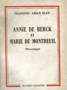 Annie de Berck et Marie - Montreuil, de François Aman-Jean