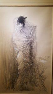Cora Laparcerie - Charles Léandre (1900)