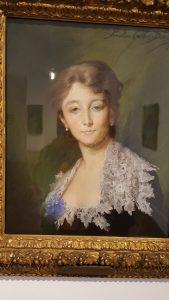 Portrait de Madame de Saint-Marceaux - Pauline Carolus-Duran (Pastel, 1882)