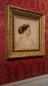 """La Princesse Mathilde (étude pour """"Le baptême du Prince Impérial"""") - Thomas Couture (vers 1856)"""